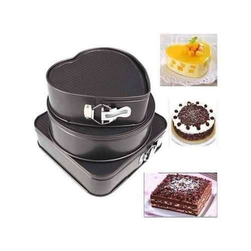 As Seen On Tv Cake Mould - 3 Pcs 4