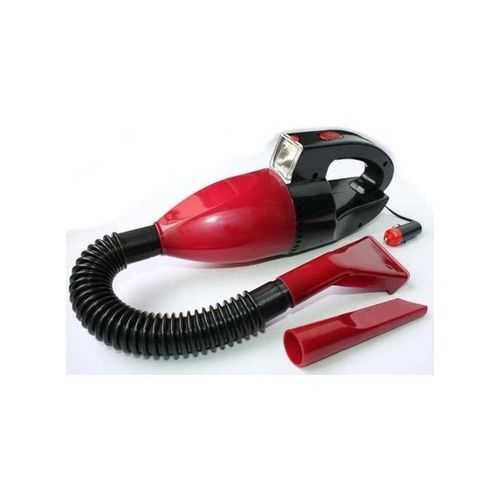 Car Vacuum Cleaner With Light - Red - 12V 4