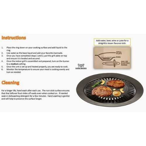 Chefmaster Barbecue Stove Top Grill 4