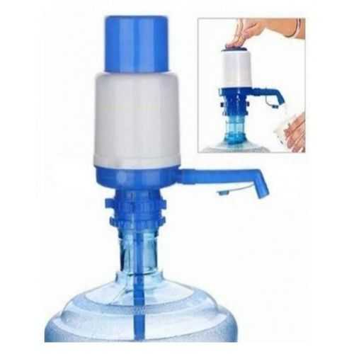 Hi-0334 Drinking Manual Water Pump -White And Blue