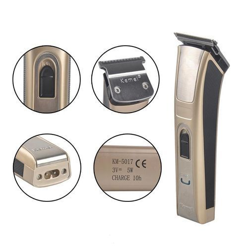 Kemei Km-5017 Rechargeable Hair Trimmer 3