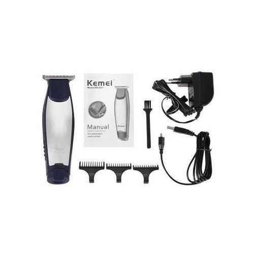 Kemei Km 5021 Wet And Dry Hair Trimmer - For Men 2