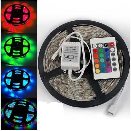 Led Strip With Remote Control - 5 M - 12V - 6A 1