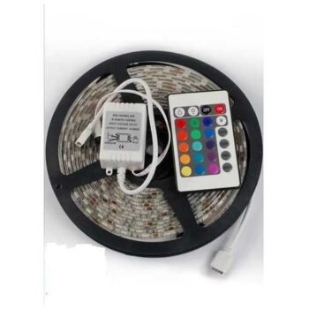 LED Strip With Remote Control - 5 M - 12V - 6A