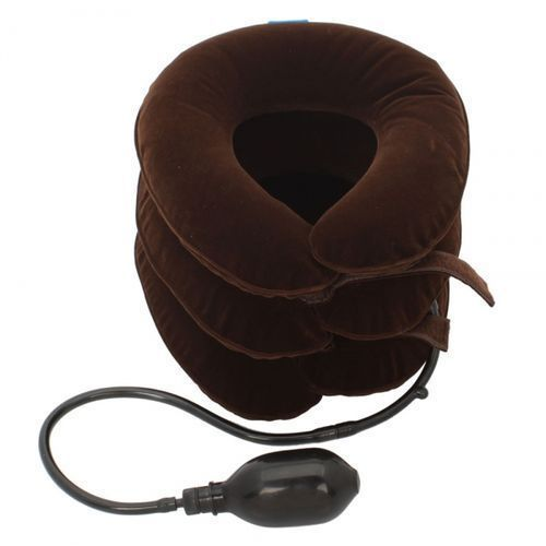 Neck Cushion And Pillow - Brown