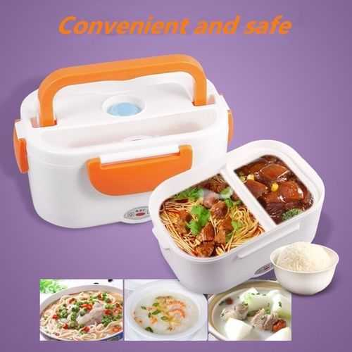 Portable Adapter Electric Lunch Box Heated - 220V 3