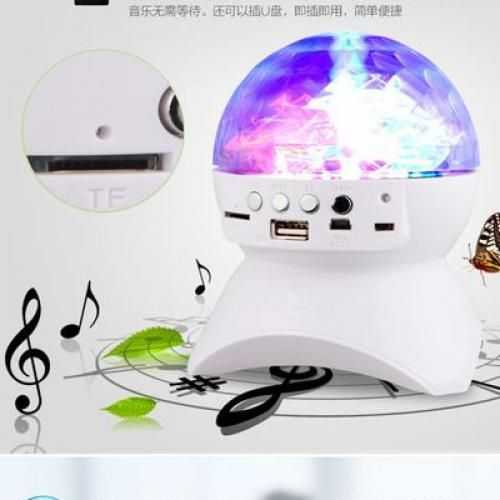 Portable Bluetooth Speaker And Disco Ball 1