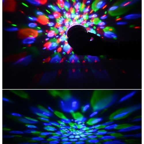 Portable Bluetooth Speaker And Disco Ball 4