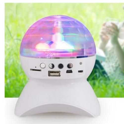 Portable Bluetooth Speaker And Disco Ball