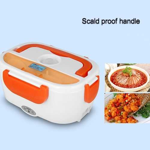 Portable Double Layer Electric Heating Lunch Box - 1Pcs 3
