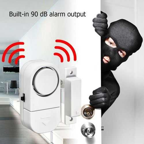 Sensor Magnetic Security Alarm For Home