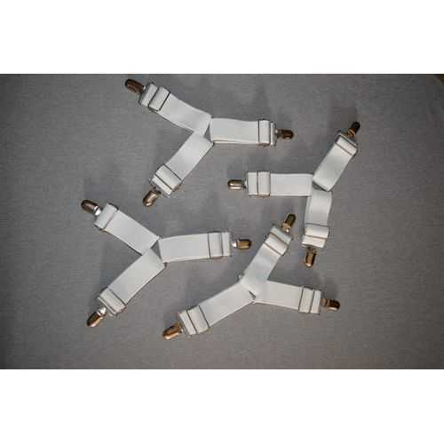 Sheet Grippers - 4 Pcs - White 4