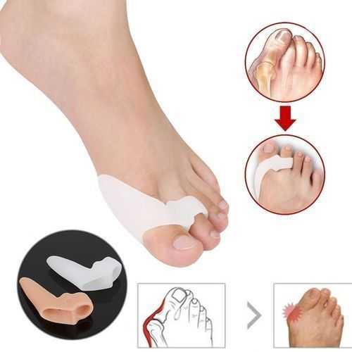 Silicon Toes Pain Reliever - 2 Pcs 1
