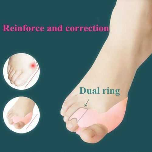 Silicon Toes Pain Reliever - 2 Pcs 4