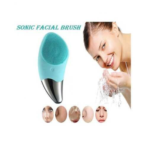 Silicone Ultrasonic Facial Cleanser Brush