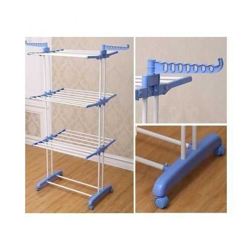Stainless Steel Clothes Hanger - 3 Layers 1