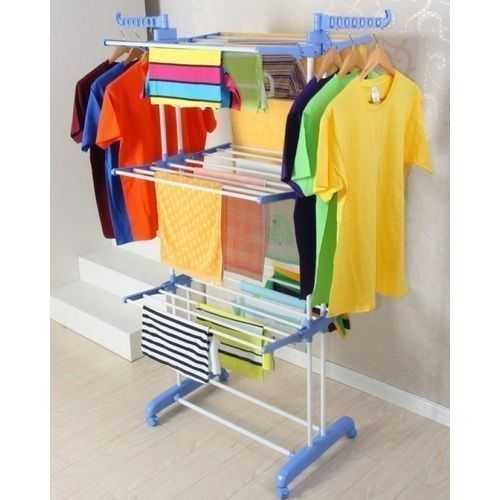 Stainless Steel Clothes Hanger - 3 Layers