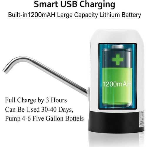 Usb Charging Automatic Electric Water Pump 3
