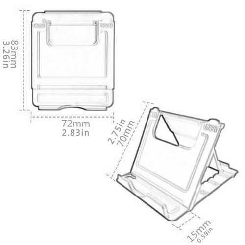 Universal Folding Cell Phone Stand 2