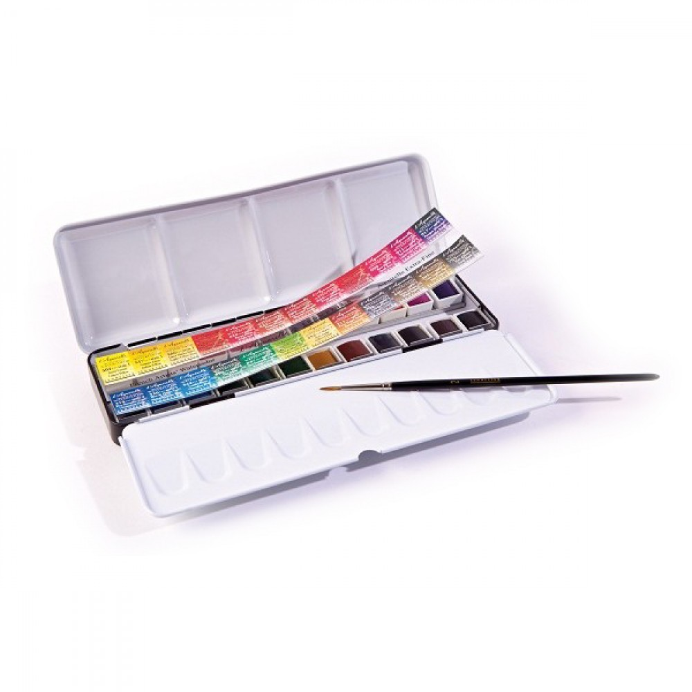 Coffret Aquarelle Metal Sennelier Plus De 100 Coffrets