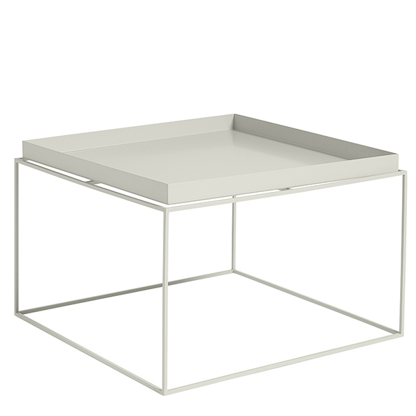 Hay Tray Table Large Warm Grey Finnish Design Shop