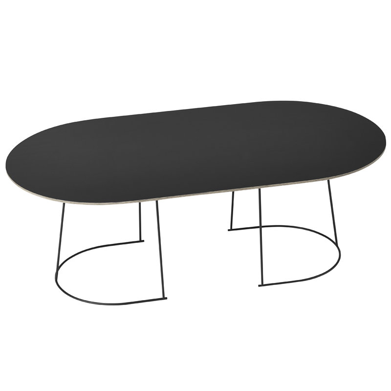 Muuto Airy Coffee Table Large Black Finnish Design Shop