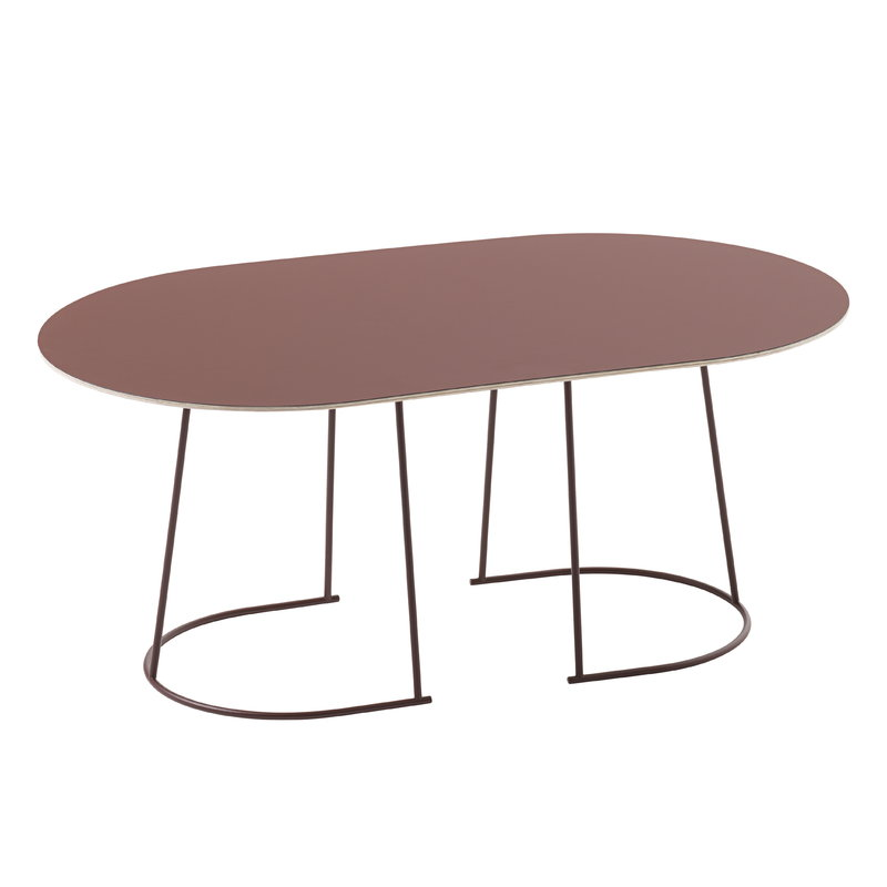 Muuto Airy Coffee Table Medium Plum Finnish Design Shop