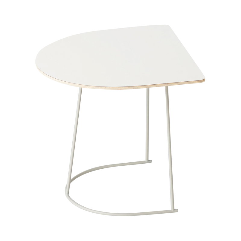 Muuto Airy Coffee Table Half Size Off White Finnish Design Shop
