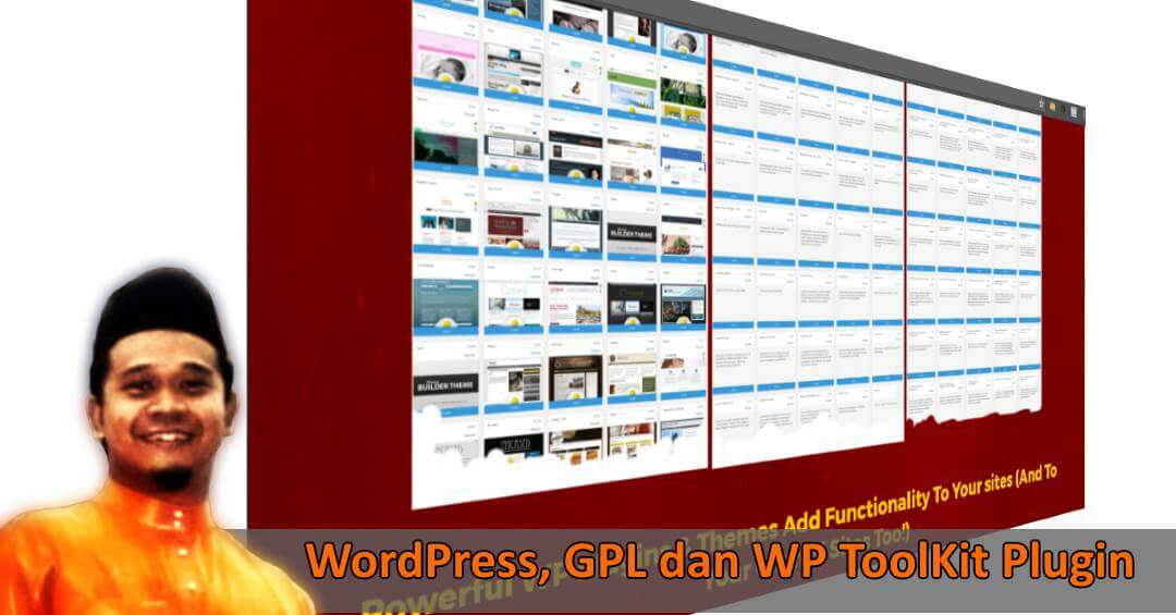 WordPress, GPL dan WP ToolKit Plugin