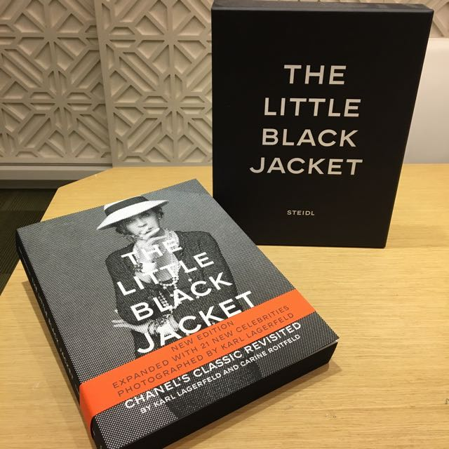 Coffee Table Book Chanel The Little Black Jacket By Karl
