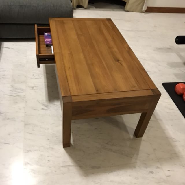 Scanteak Tro Coffee Table Furniture Tables Chairs On Carousell