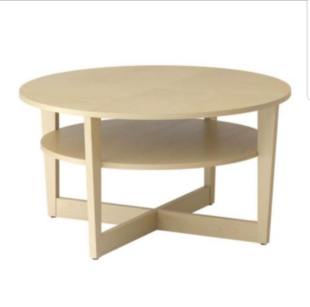 Ikea Vejmon Coffee Table Furniture Tables Chairs On Carousell