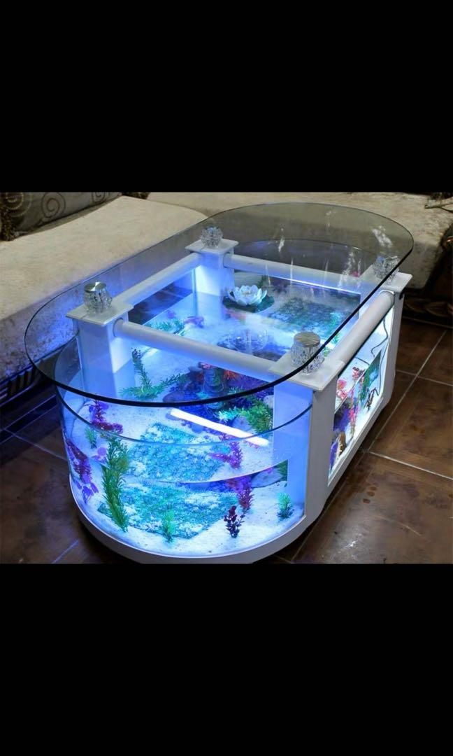 Fish Tank Coffee Table Pet Supplies For Fish Fish Tanks On