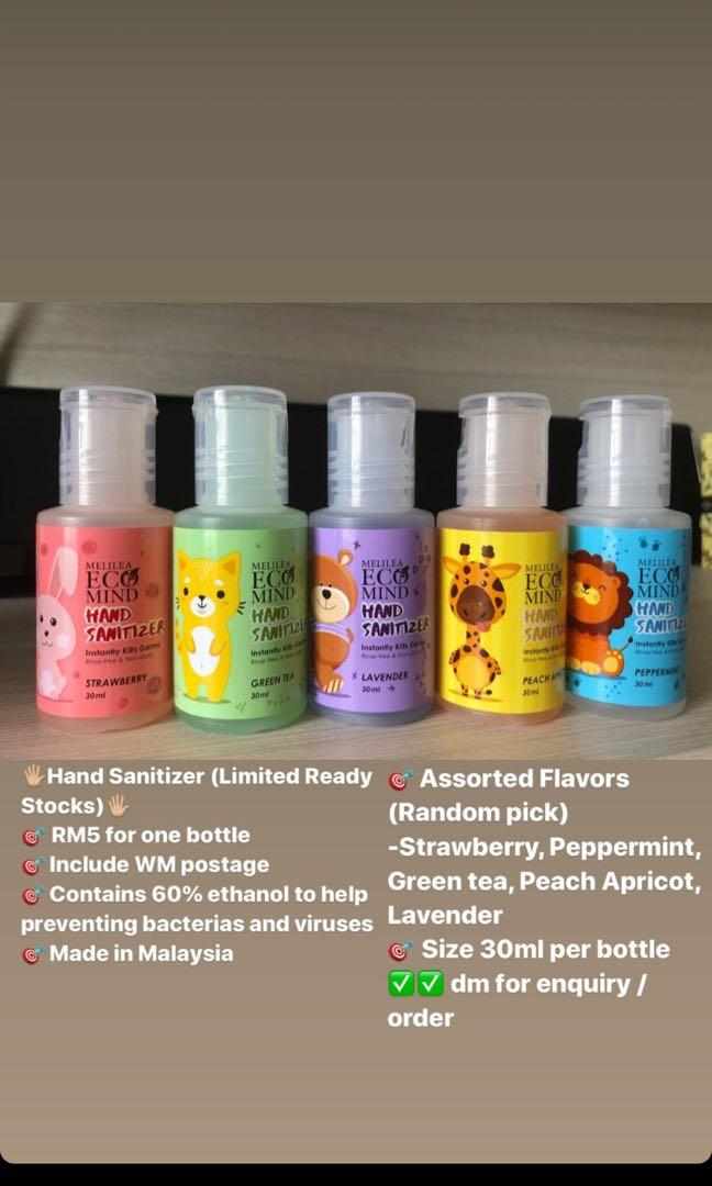 Hand Sanitizer Health Beauty Skin Bath Body On Carousell