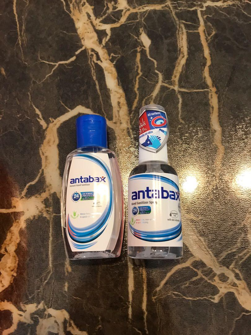 Antabax Hand Sanitizer Health Beauty Hand Foot Care On Carousell