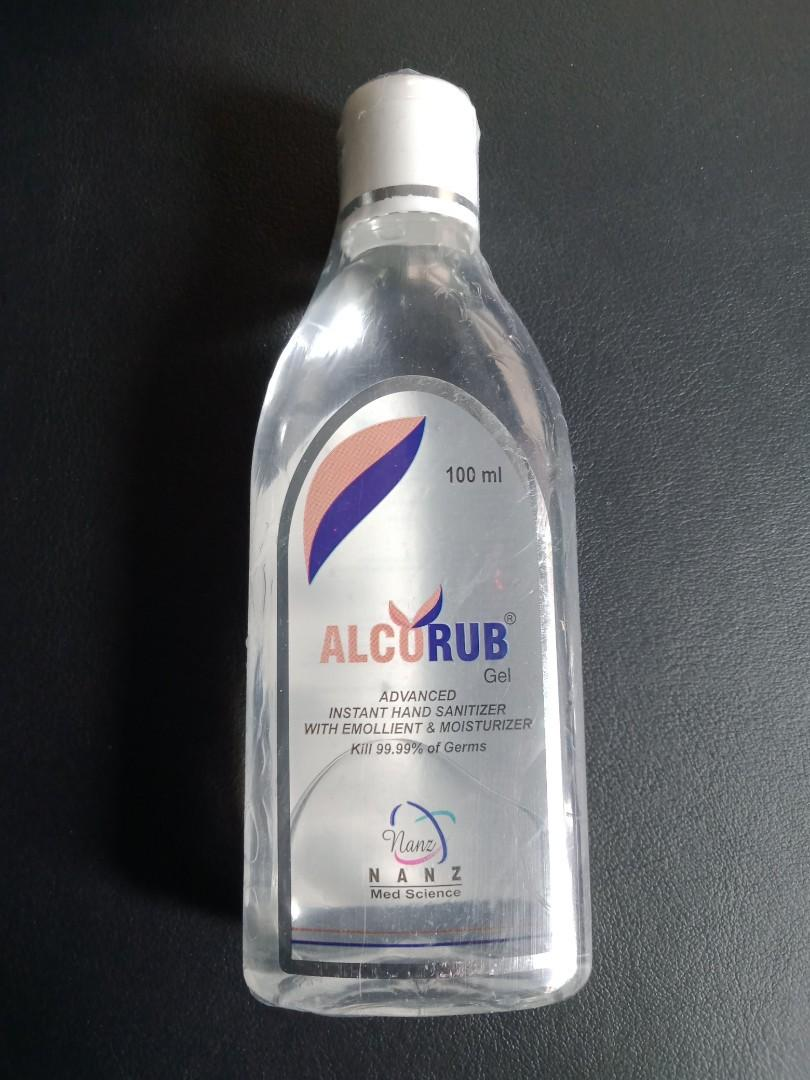 Alcorub Hand Sanitizer Health Beauty Hand Foot Care On Carousell