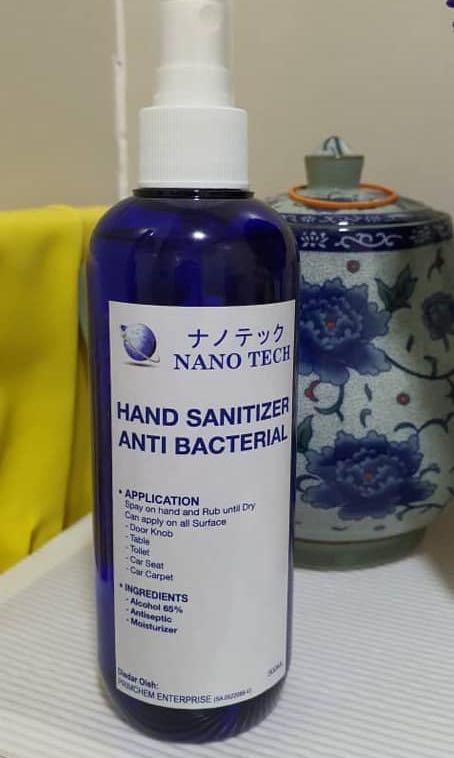 Preorder Nano Hand Sanitiser Health Beauty Perfumes Nail Care