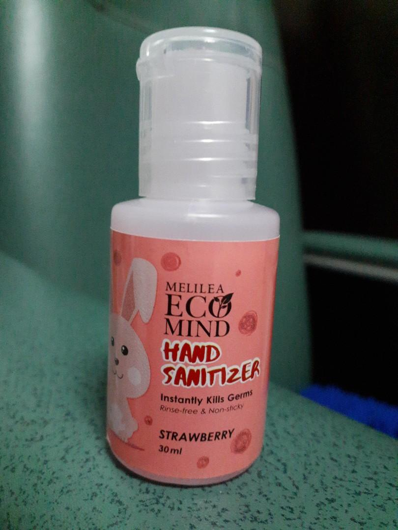 Hand Sanitizer For Kids Melilea Ecomind Health Beauty Face