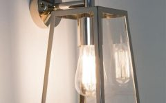Silver Outdoor Wall Lights