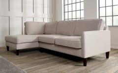Hadley Small Space Sectional Futon Sofas