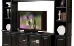 Black Tv Cabinets with Doors