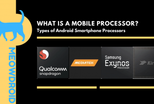 mobile processor and types