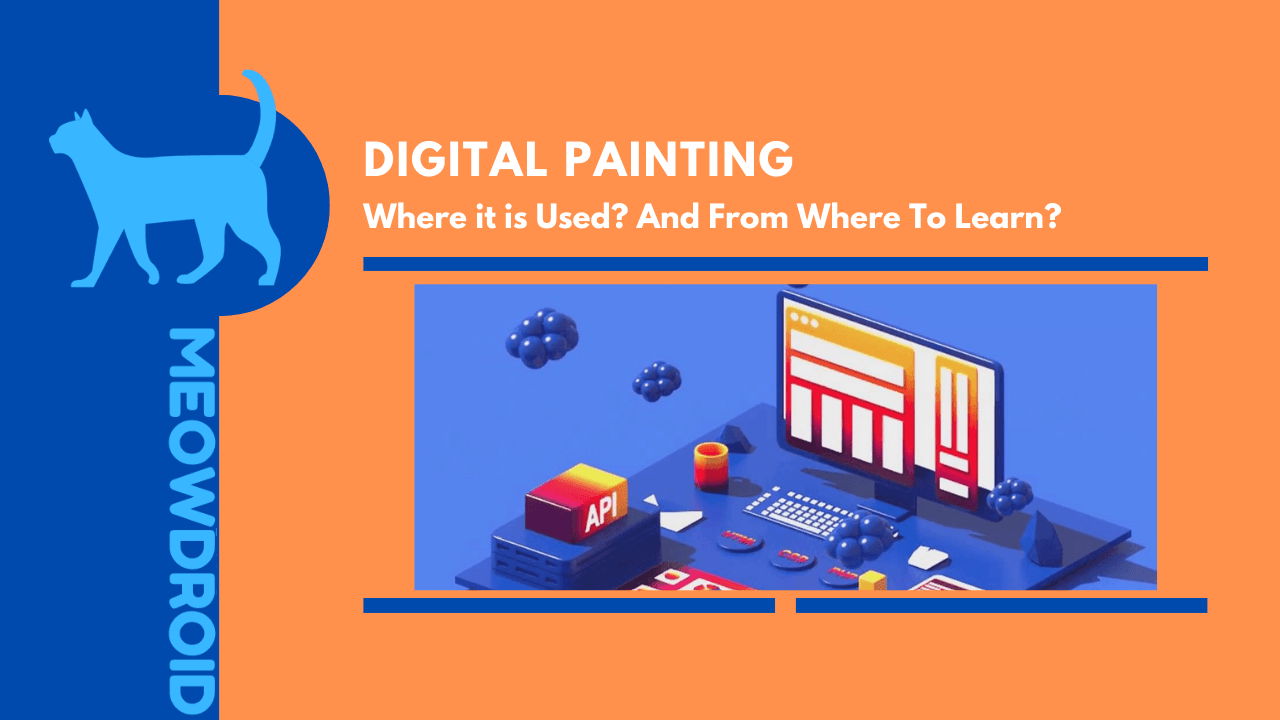 what is digital painting