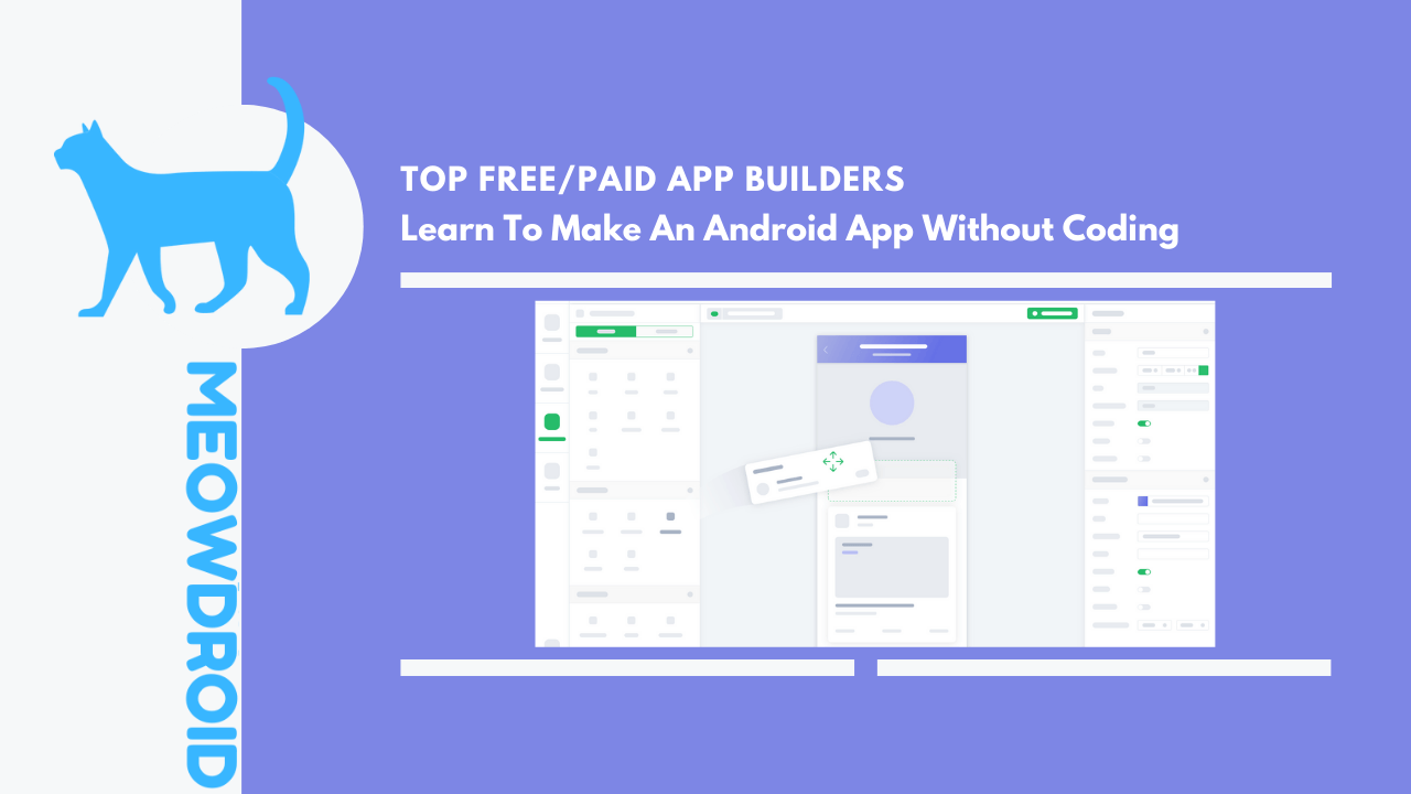 Make an android app without coding