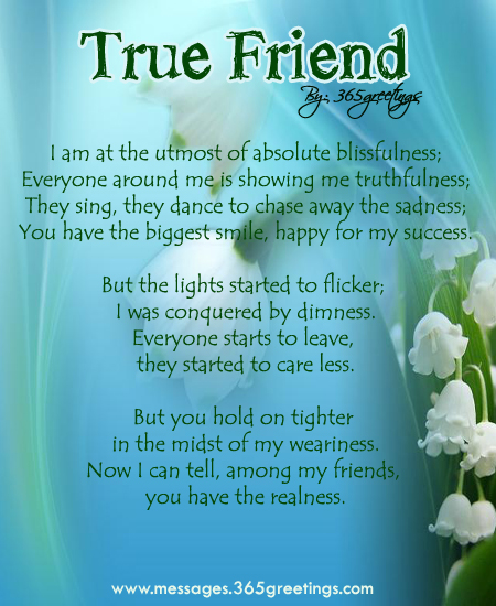 My Friends Poems 5