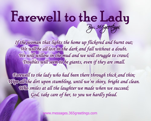 Sister Funeral Poems 2