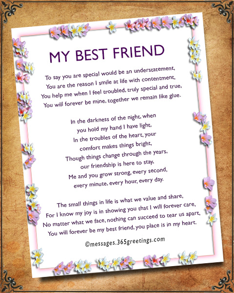 Poems For My Best Friends 2