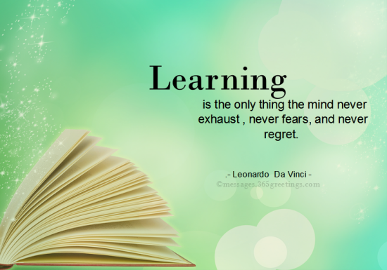 Quotes For Learning 1