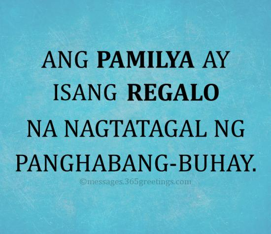 Family Quotes Tagalog 2