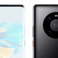 The Huawei Mate 40 Pro appears in real images: elegant and different 5